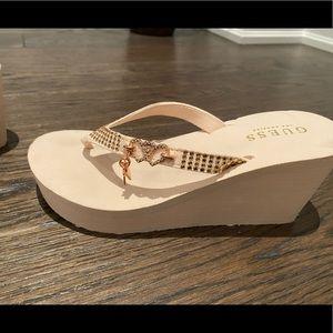 Guess wedge sandal